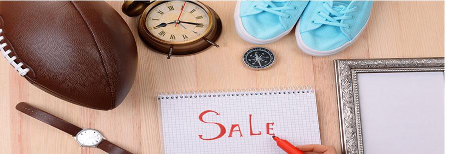 Продать ненужные вещи