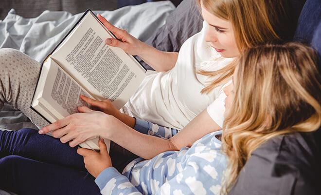 Читать перед сном