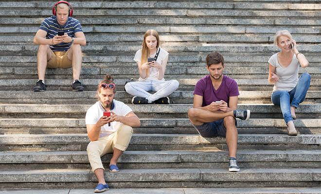 Общение в соцсетях