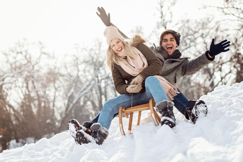 Свидание в Киеве зимой